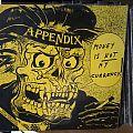 Appendix - Tape / Vinyl / CD / Recording etc - APPENDIX - money is not my currency - LP - Rock O Rama Records, 1983