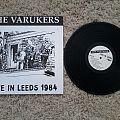 Varukers - Tape / Vinyl / CD / Recording etc - Varukers - live in leed  LP