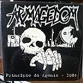 Armagedom - Tape / Vinyl / CD / Recording etc - ARMAGEDOM - principio da agonia - LP