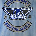 Aerosmith Blue Army Boston, Mass. T-Shirt