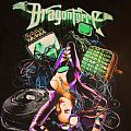 """DragonForce """"Press Play"""" android babe video game T-Shirt"""
