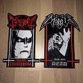 Mayhem and Morbid Back Patches