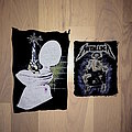 Metallica Homemade Patches