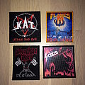 Kat, Flames, Slaughter Lord and Schizo patches