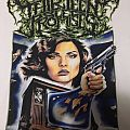 "Thirteen Bled Promises ""Long Live The New Flesh"" Videodrome White Shirt"