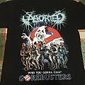 Aborted 'Gorebusters' limited edition shirt