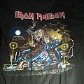 Iron Maiden - No Prayer on the Road 1990 UK tour shirt