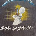 METALLICA metal up your ass Shirt ´85