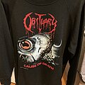 Obituary - TShirt or Longsleeve - Obituary Cause of Death Crewneck 1990