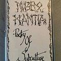 Nigro Mantia - Poetry Of Subculture Tape / Vinyl / CD / Recording etc