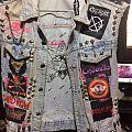 Crashdiet - Battle Jacket - My girlfriend's battle jacket
