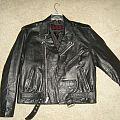 Leather Jacket - Battle Jacket - Leather Jacket For Sale Or Trade!!