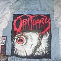 """Obituary - Other Collectable - Obituary """"Cause of Death"""" Backpatch for sale!! Or trade."""