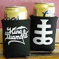 Other Collectable - King Diamond drink koozie, can cooloer/holder