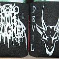 Nunslaughter Logo/Devil Metal drink koozie / can holder Other Collectable