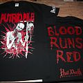 "PUTRID PILE ""Blood Runs Red"" T-shirt 2014 Revision"