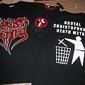 Christ Denied - Logo / Brutal Christophobic Death Metal S/S T-shirt