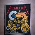 Metallica - The Shortest Straw rubber patch