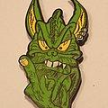 Tankard - Alien pin badge