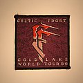 Celtic Frost - Cold Lake World Tour 1989 Woven patch
