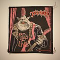 Tankard - Fat, Ugly an Live woven patch
