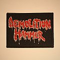 Demolition Hammer - Logo woven patch