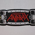 Anthrax - Skateboard Strip Woven patch