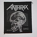 Anthrax - Sound of White Noise Woven patch