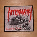 Aftermath - Killing the Future Woven patch