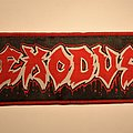 Exodus - Bonded by Blood woven strip patch