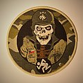 D.R.I. - Dirty Rotten circle woven patch