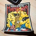 Manowar - Kings of Metal Rubber patch
