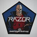 Razor - Patch - Razor - Shotgun Justice Woven patch
