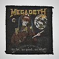 Megadeth - Patch - Megadeth - So Far, So Good... So What! Woven patch