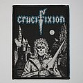 Crucifixion - Green Eyes Woven patch