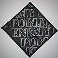 Public Enemy - Patch - Public Enemy -  Woven logo patch