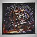 Motörhead - Orgasmatron Woven patch