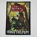 Nuclear Assault - Hang the Pope Woven patch