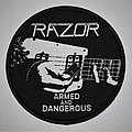 Razor - Patch - Razor - Armed and Dangerous Woven patch