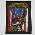 Anthrax - Patch - Anthrax - Judge Dredd Woven patch