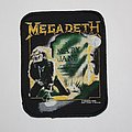 Megadeth - Patch - Megadeth - R.I.P. Mary Jane Printed patch