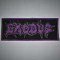 Exodus Embroidered logo patch