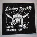 Living Death - Patch - Living Death - Metal Revolution Printed patch
