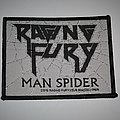 Raging Fury - Man Spider Woven patch