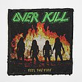 Overkill - Feel  the Fire Woven patch