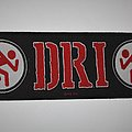 D.R.I. - Woven superstrip patch