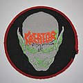 Kreator - Behind the Mirror Woven circle patch