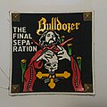 Bulldozer - Patch - Bulldozer - The Final Separation (Rubber patch)