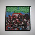 Overkill - Taking Over Woven patch