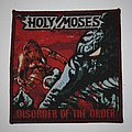 Holy Moses - Patch - Holy Moses - Disorder of the Order Woven patch